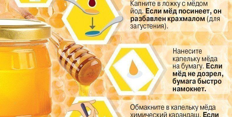 kak opredelit kachestvo meda