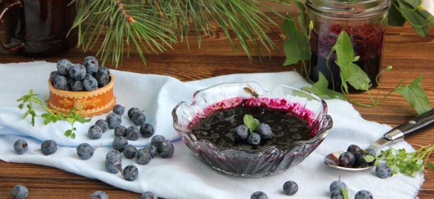 lesnaya golubika na zimu luchshie i proverennye recepty