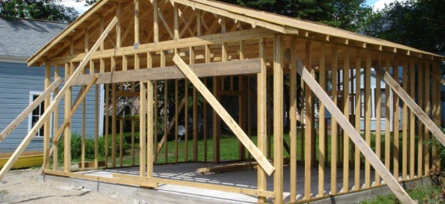 podbor materialov i stroitelstvo garazha svoimi rukami