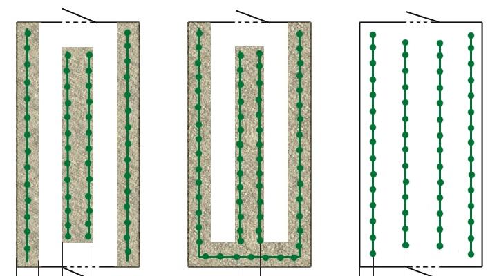 shema posadki percev v polikarbonatnoj teplice