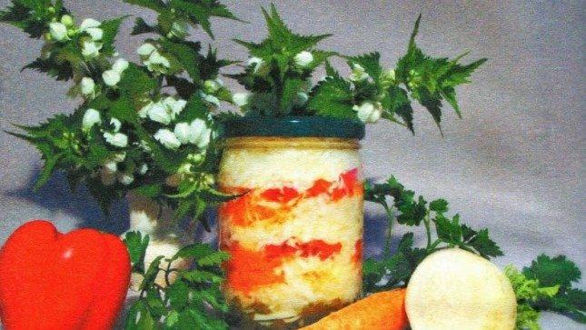 zagotovka iz redki na zimu vkusnye recepty salatov i zasolok